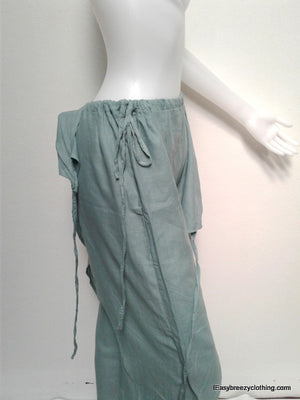 Wrap Pants,Cotton Pants and Skirts,Easy Breezy Clothing,[Easy Breezy Clothing]
