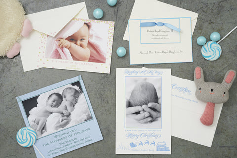 Share the wonderful news of your new arrival with everyone. Design gorgeous paper for your baby!