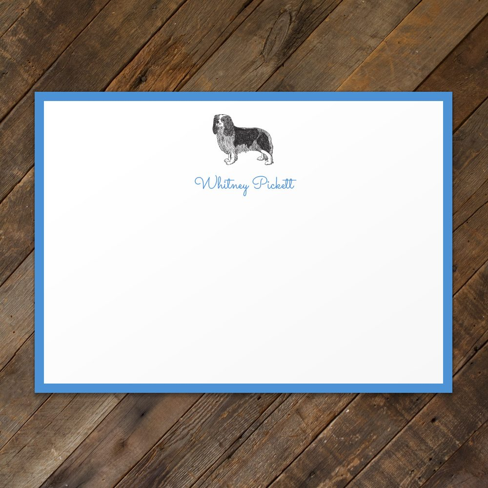 King-Charles-Pet-Flat-Print-Stationery
