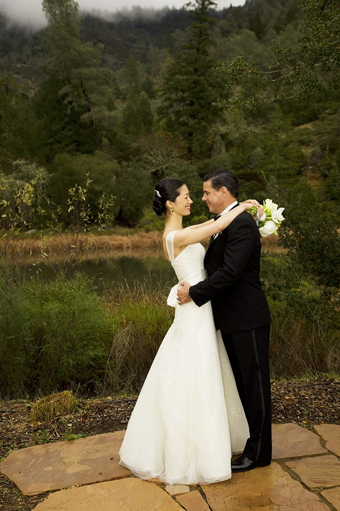 Jennifer and Steven tied the knot on Calistoga Ranch in California. Would you like to be featured on #PPRealBride?