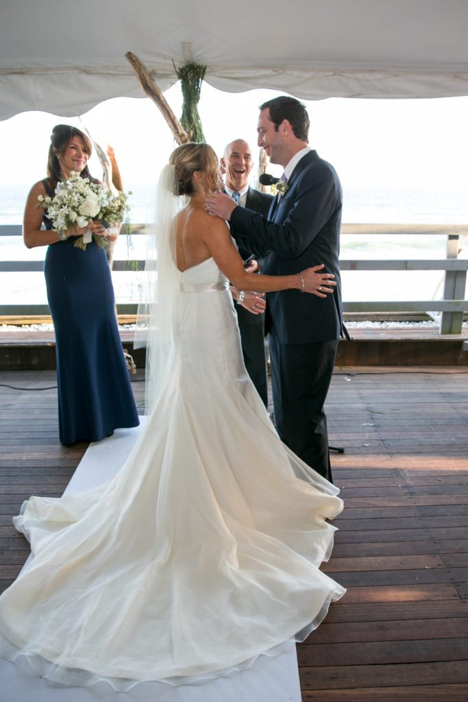Erin and Emilio's exchanges vows at Gurney's Inn and Resort in Montauk, New York. Would you like to be featured on #PPRealBride?