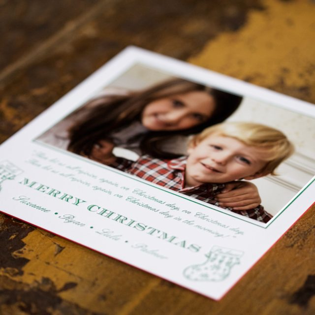 Pickett's Press is thankful this Thanksgiving for the tradition of sending holiday cards to friends and families.
