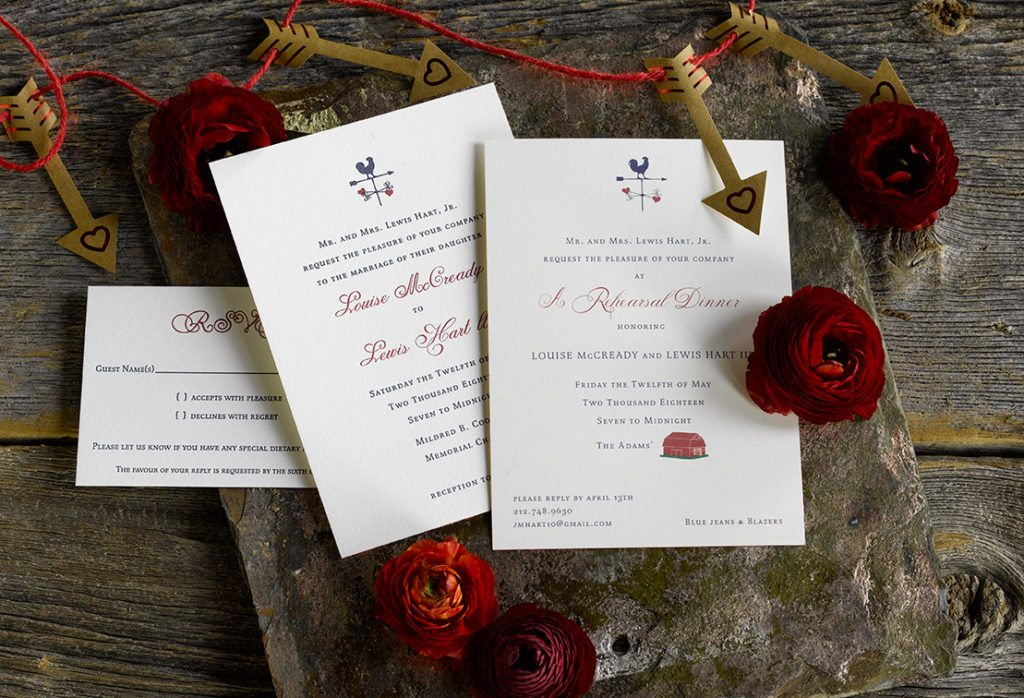 Louise & Lewis is a letterpress wedding suite set in Little Rock, Arkansas. Call us toll-free at 1-800-995-1549 or email us at hello@pickettspress.com