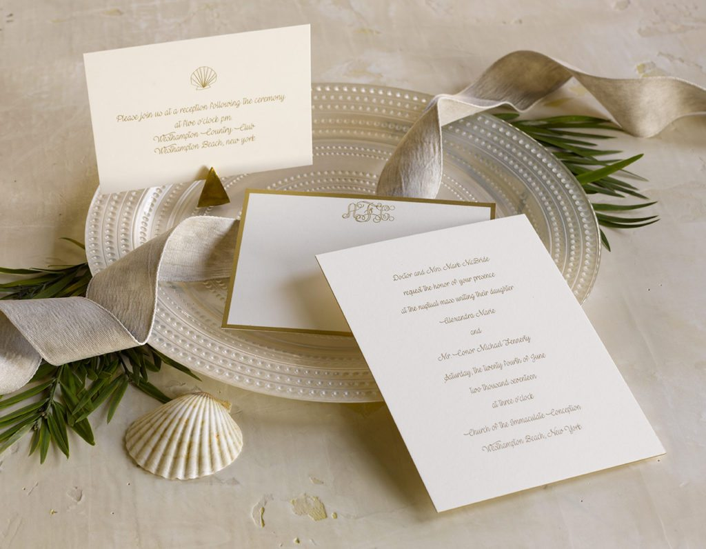 Alex and Conor is an engraved wedding suite set in the quaint beach community of Westhampton Beach, on Long Island. Call us toll-free at 1-800-995-1549 or email us at hello@pickettspress.com