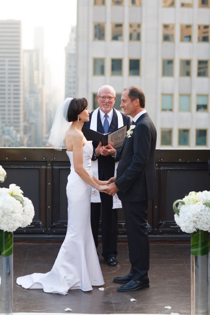 Stephanie & Allen's evening October wedding was held on the rooftop of The Peninsula in New York City. Would you like to be featured on #PPRealBride?
