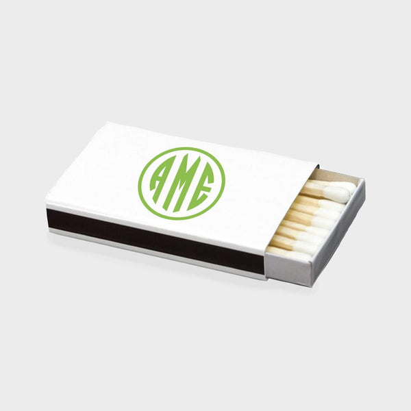 Citrus Monogram Matchbox