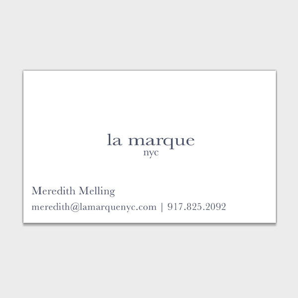 Melling Business Card
