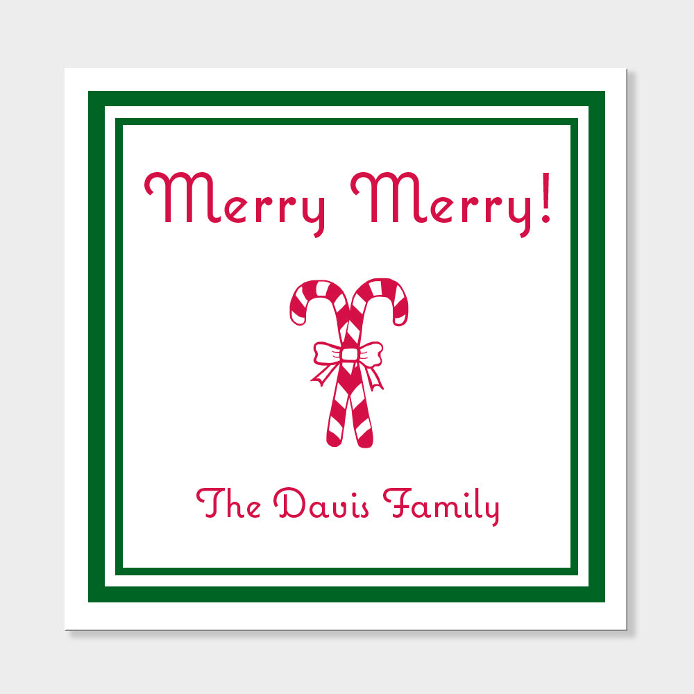 Merry Merry Holiday Stickers