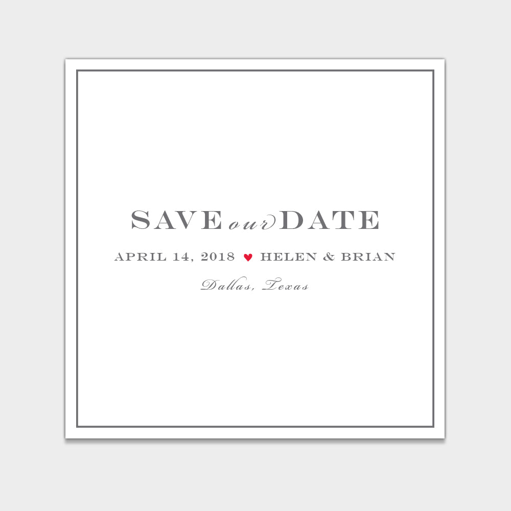 Helen & Brian Save the Date