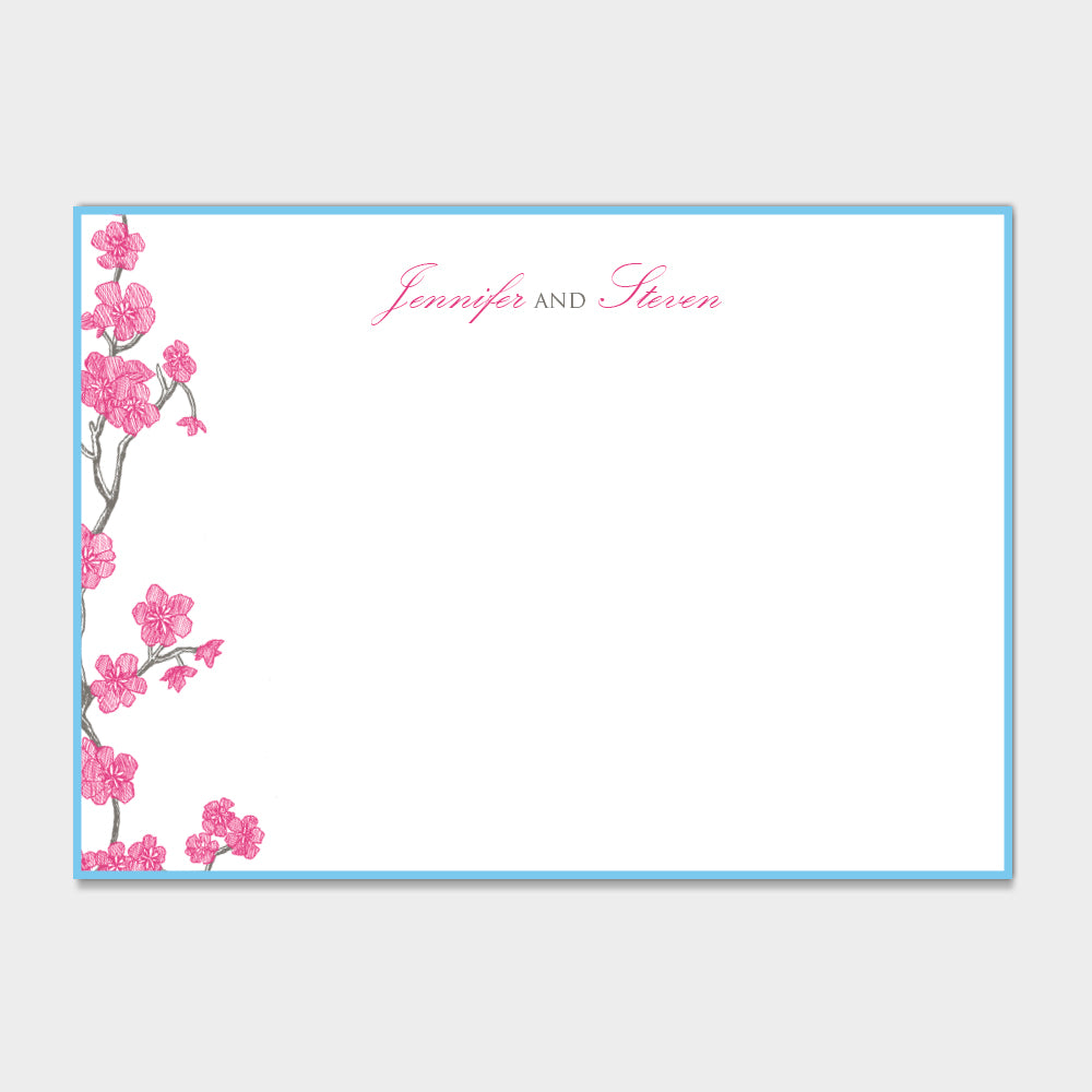 Jennifer & Steven Stationery