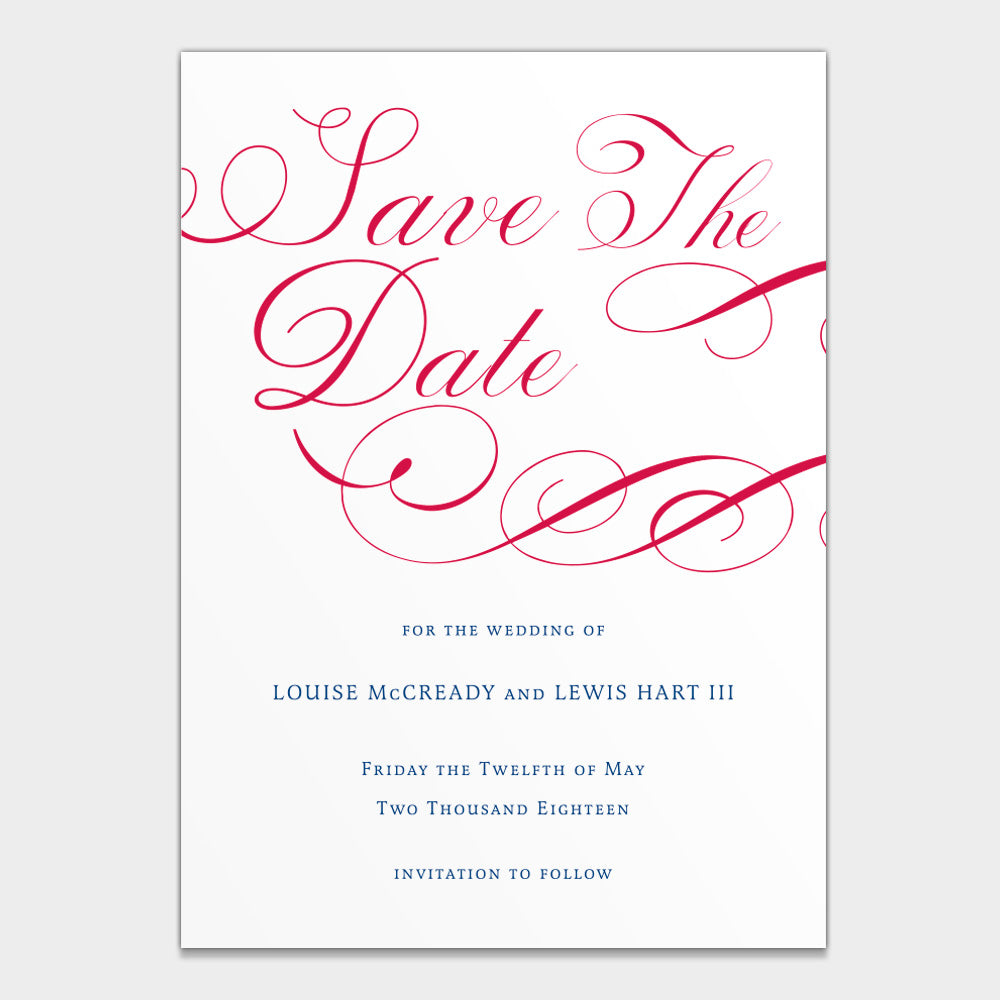 Louise & Lewis Save the Date