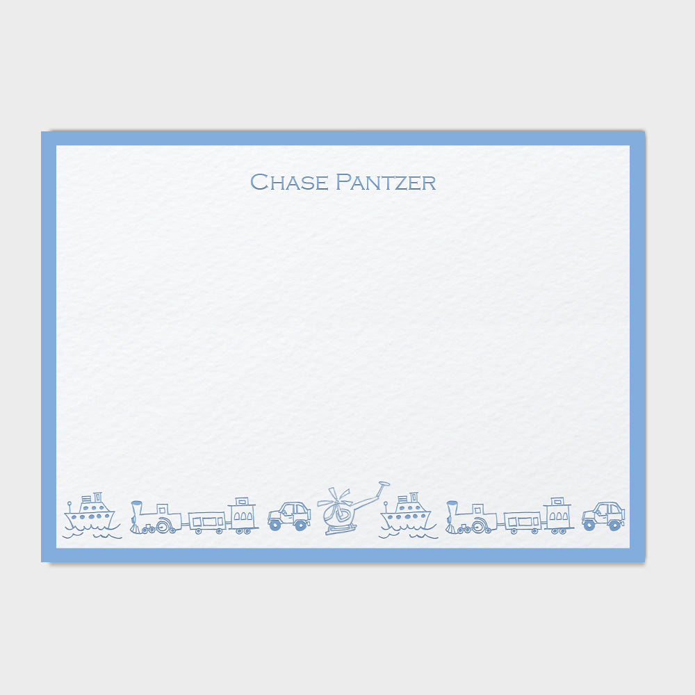Vehicles Stationery