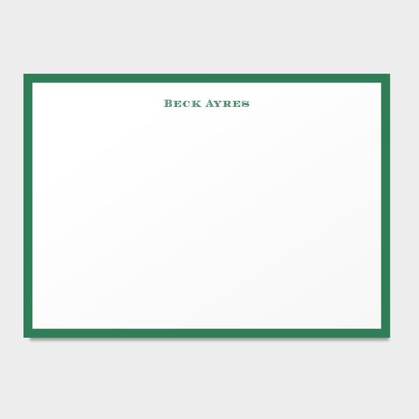 Beck Stationery