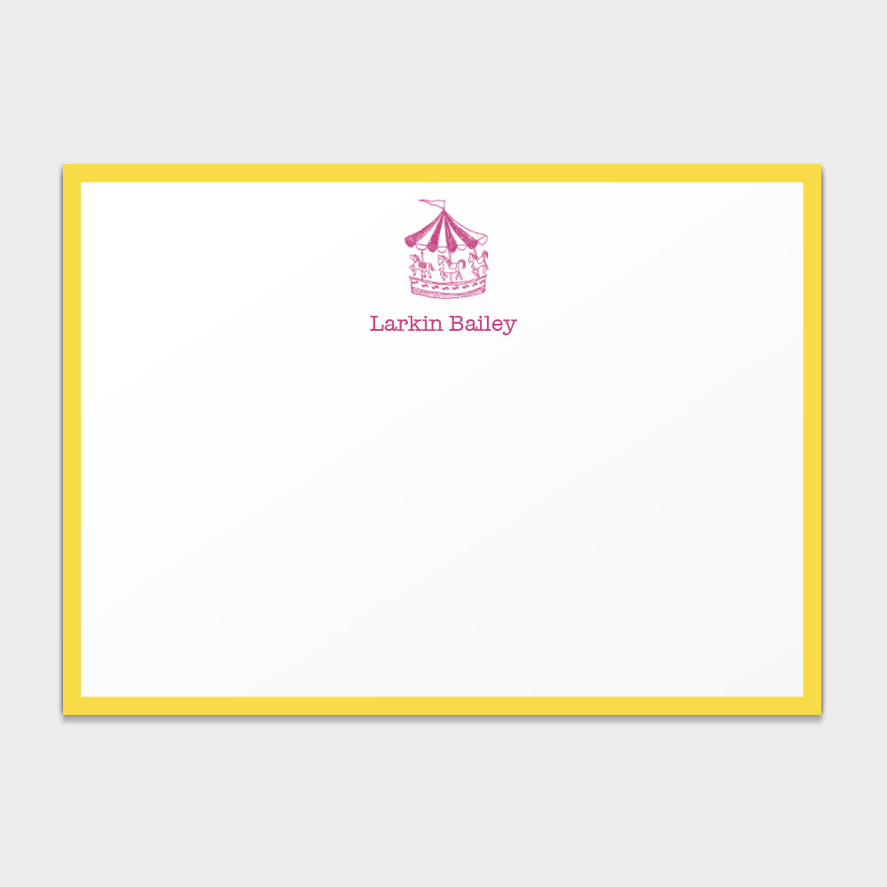 Carousel Stationery