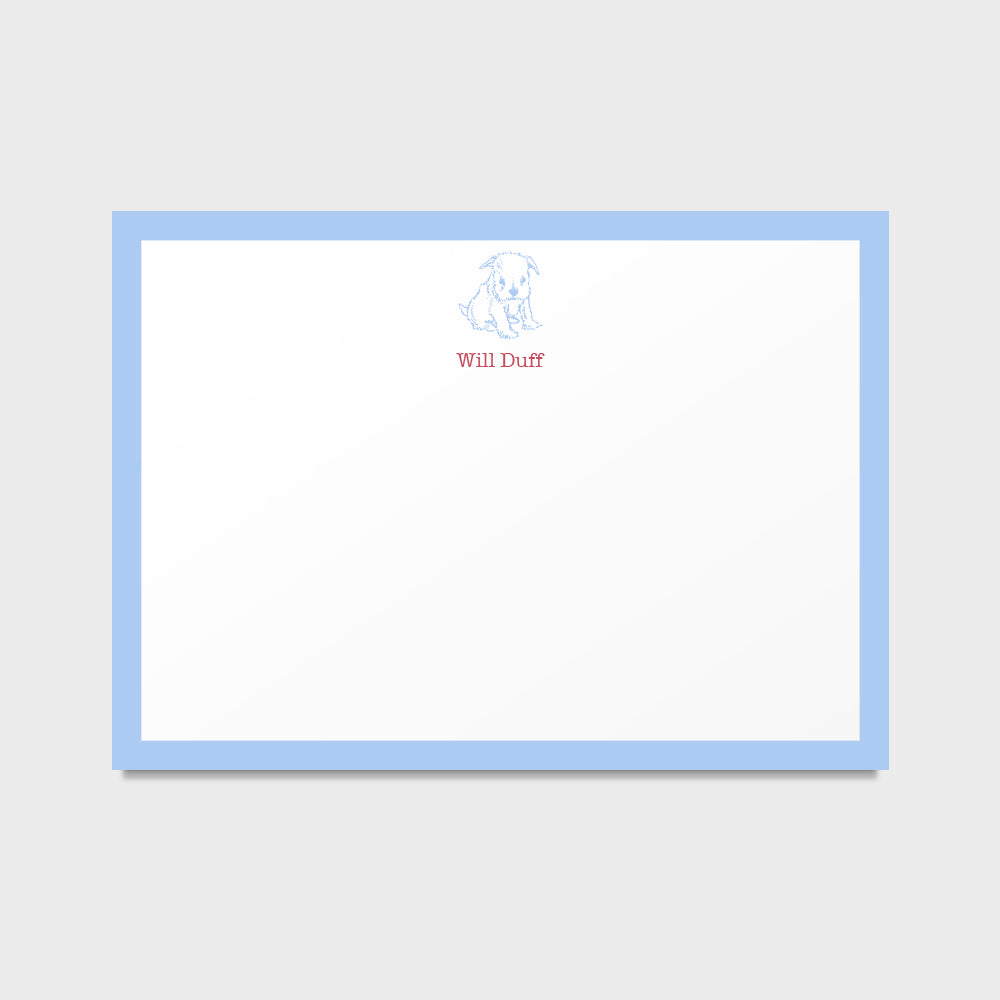 Duff Pup Stationery