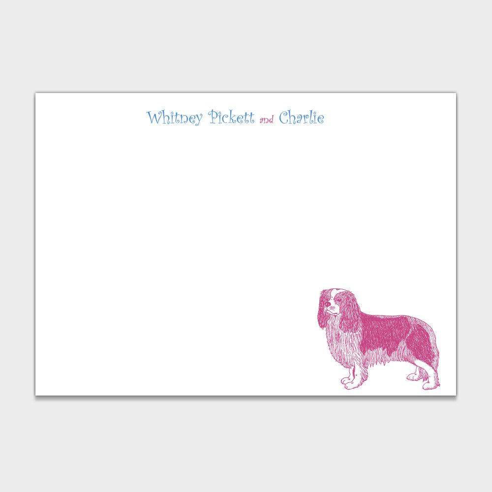 King Charles Stationery