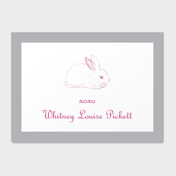 Bunny Enclosure Card
