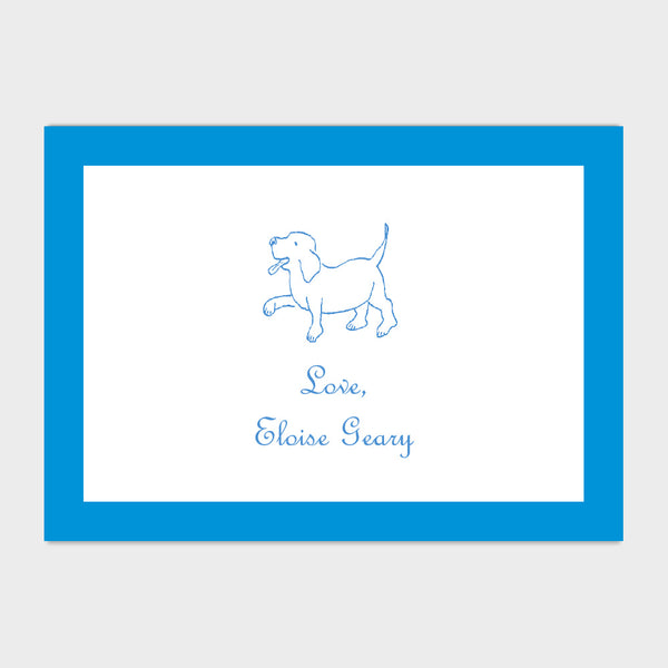 Puppy Enclosure Card