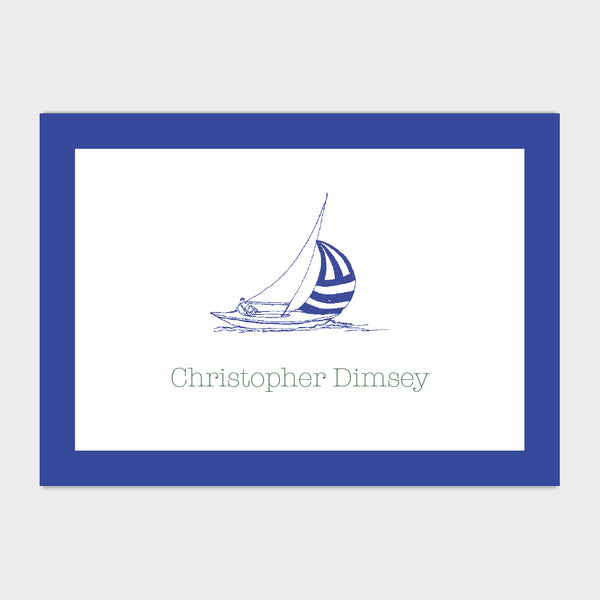 Sailboat Enclosure Card