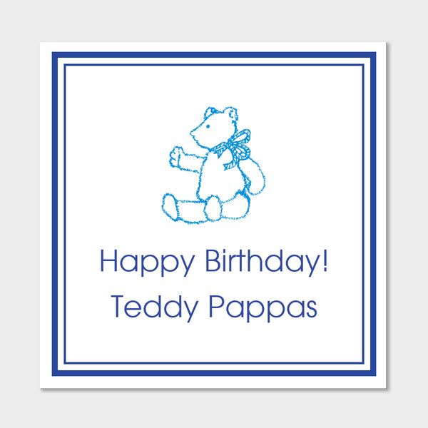Teddy Gift Stickers