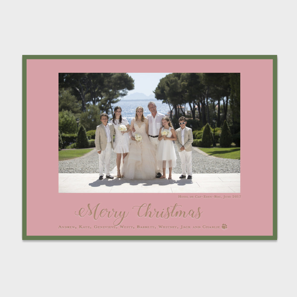 Eden Roc Christmas Card