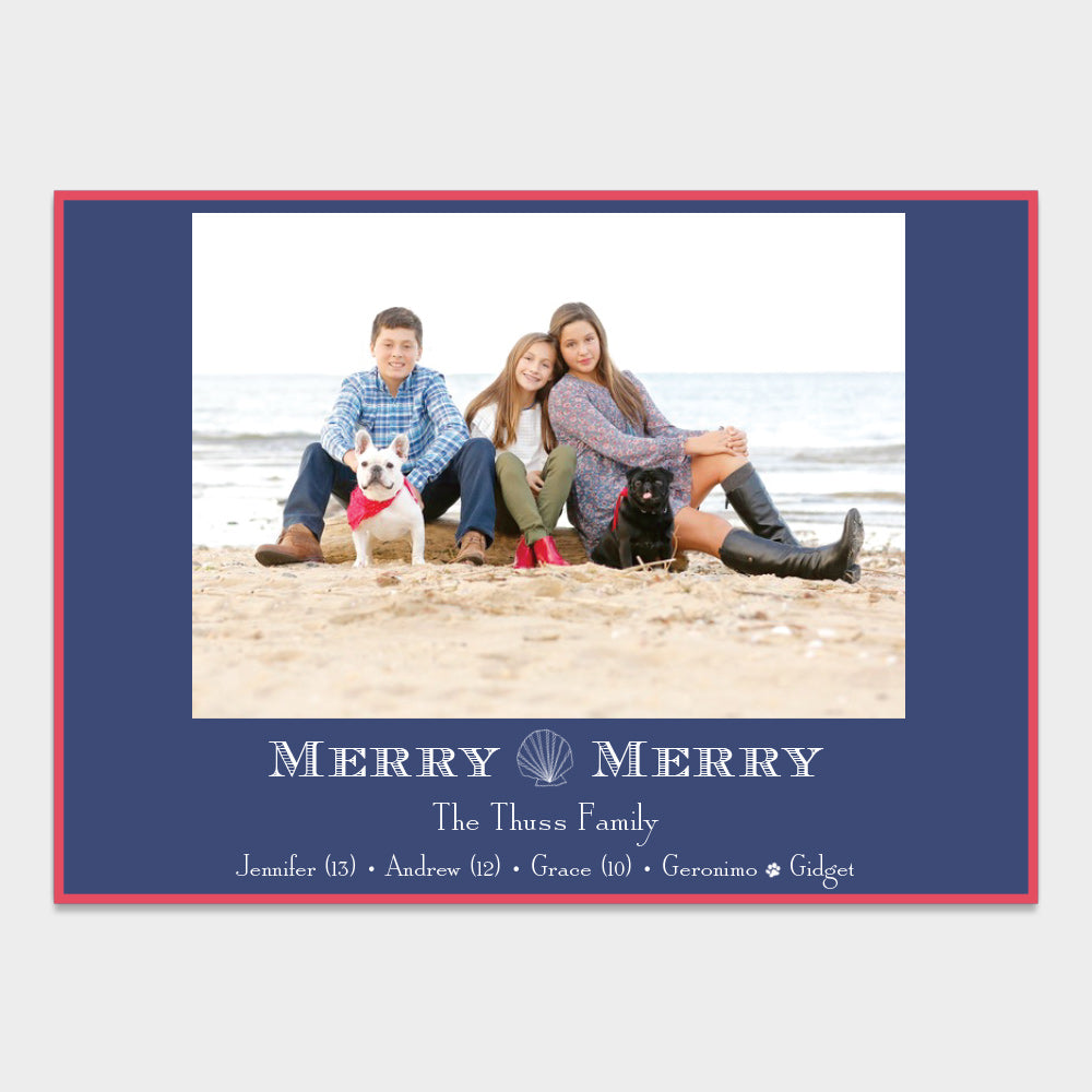Nautical Holiday Card