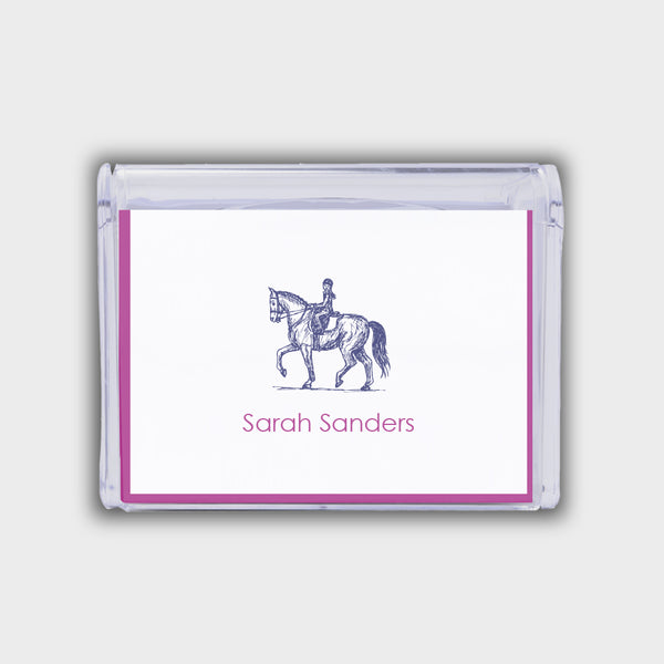 Equestrian Note Box