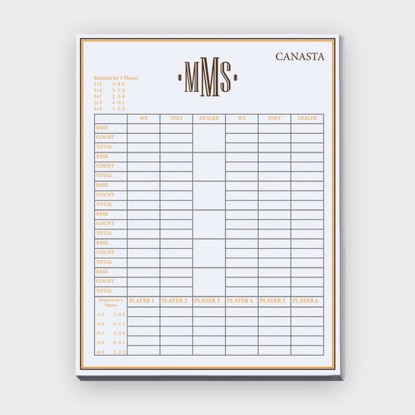 Brown Monogram Canasta Pad