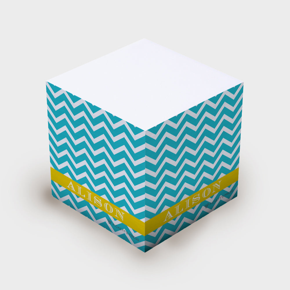Chevron Sticky Notes