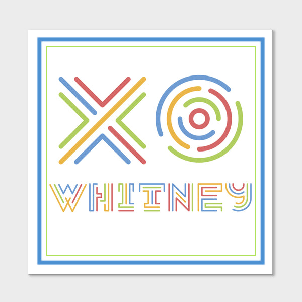 XO Whitney Gift Stickers