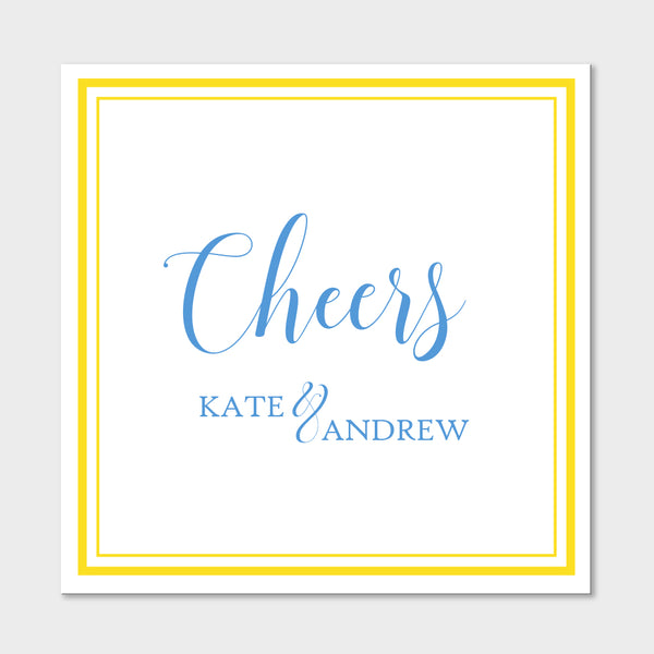Blue Cheers Gift Stickers