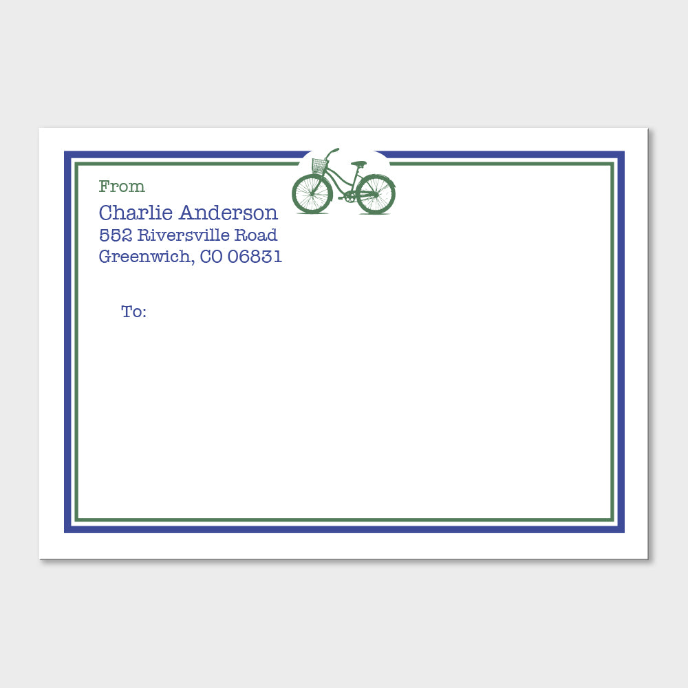 Bicycle Mailing Labels