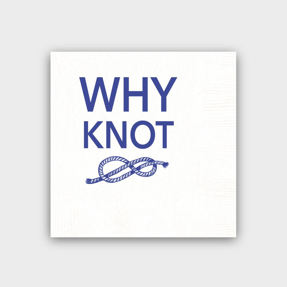 Why Knot White Napkins