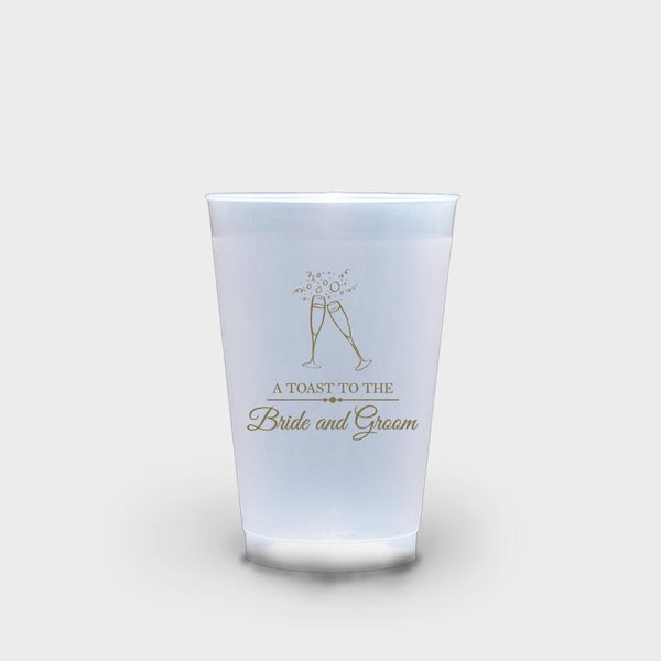 Champagne Flutes Roadie Cups 16 oz