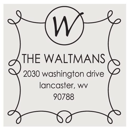 The Waltman Square Stamp