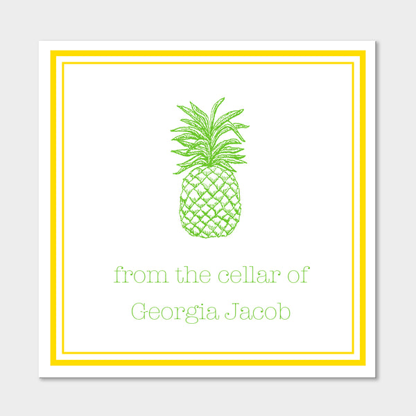 Pineapple Wine Sticker