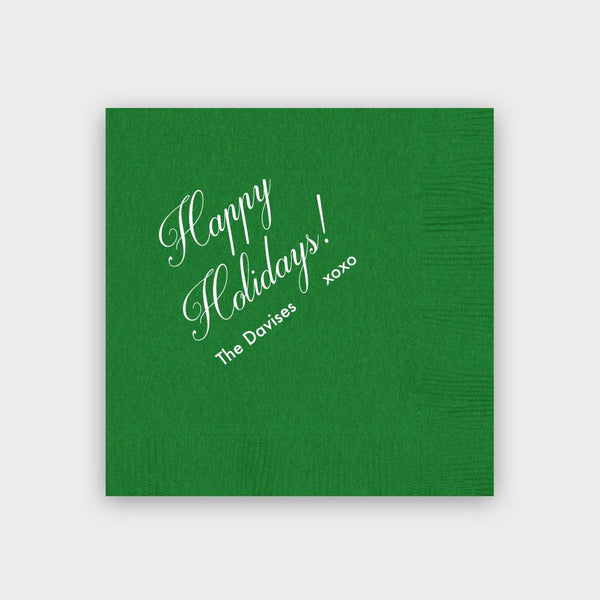 Happy Holiday! Napkins