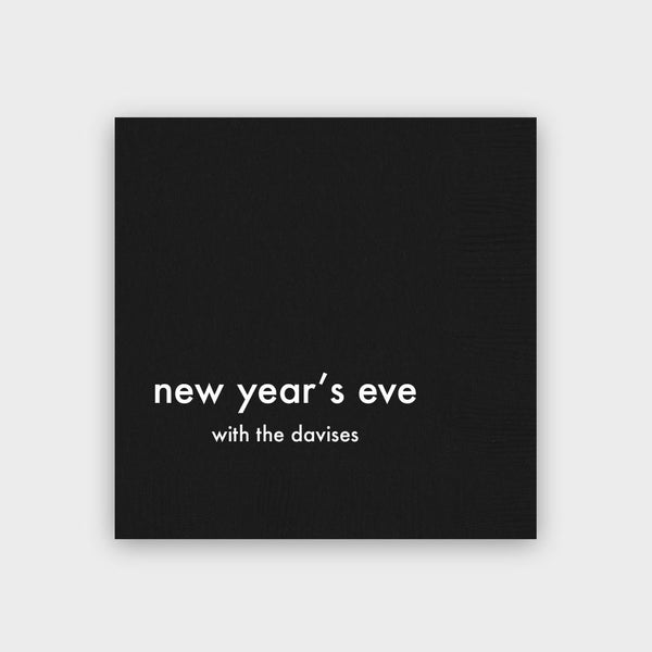 New Year's Eve Napkins