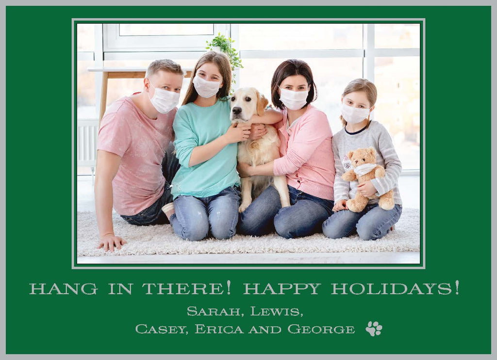 Hang in There Holiday Card