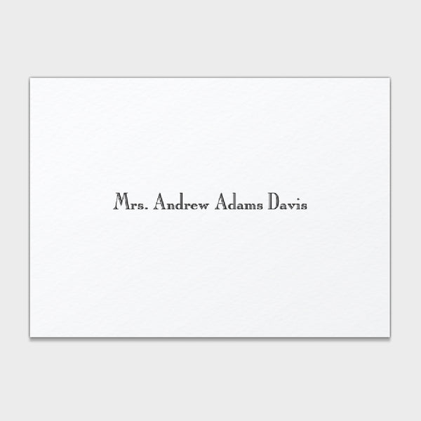 Davis Formal Enclosure Cards