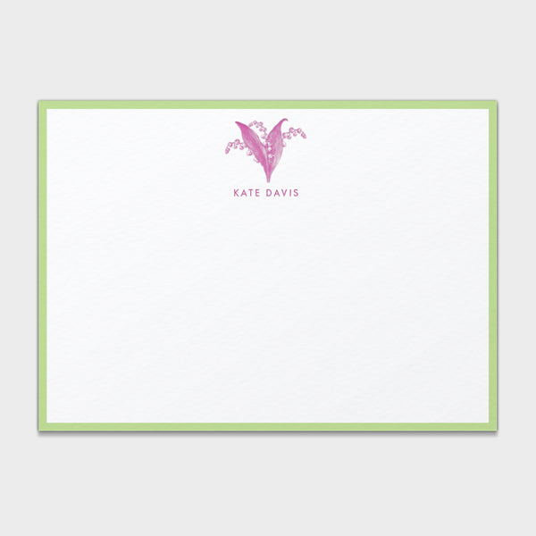 Pink Lily Stationery