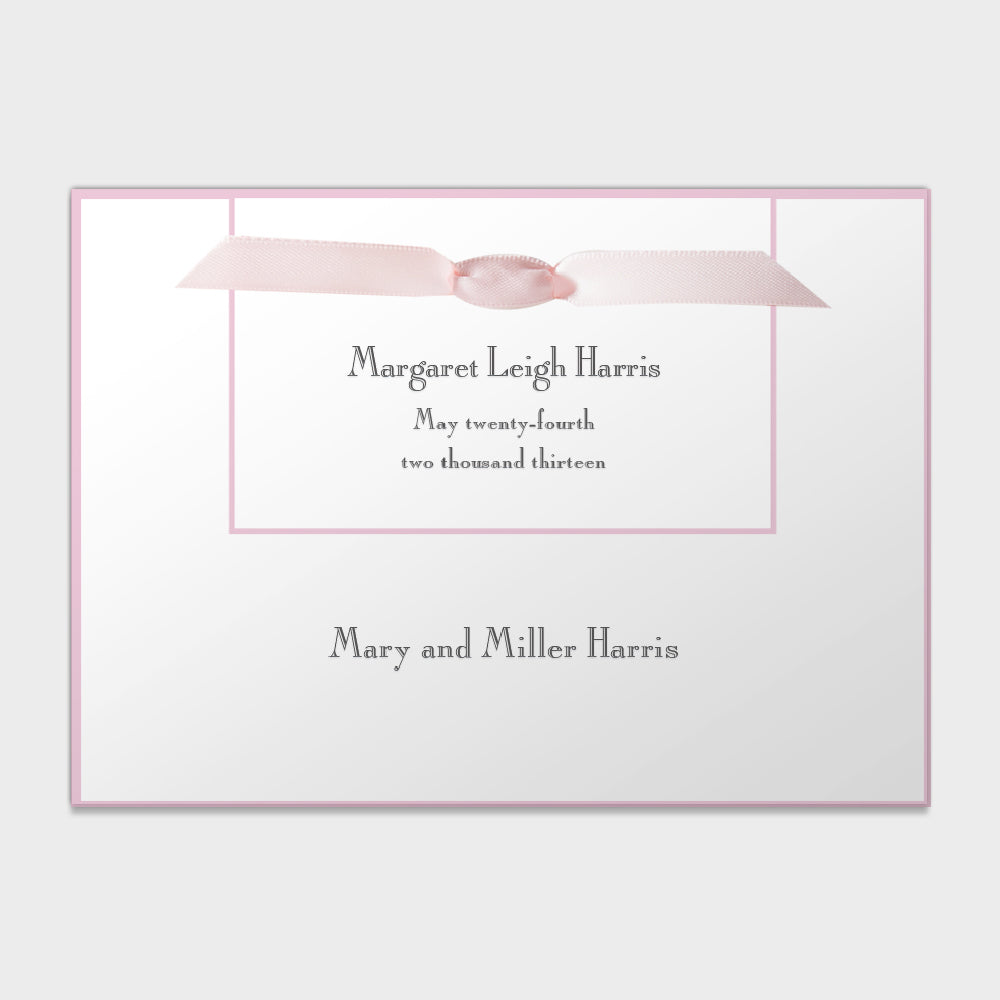 Margaret Leigh Announcement