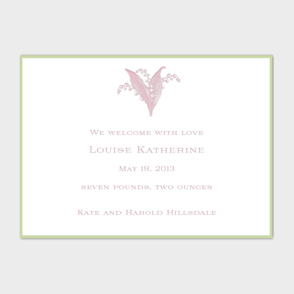 Louise Katherine Announcement
