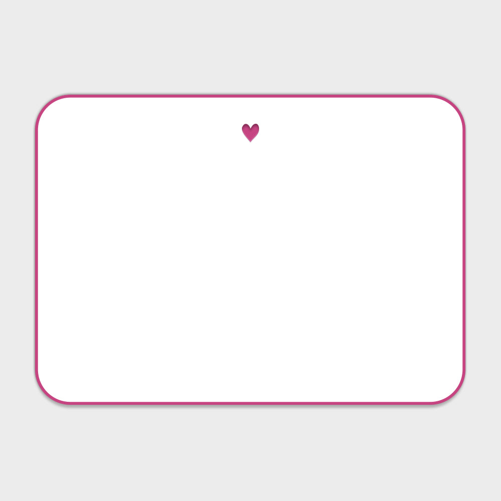 Heart Note Cards for The Scarlett Fund at Memorial Sloan Kettering Cancer Center
