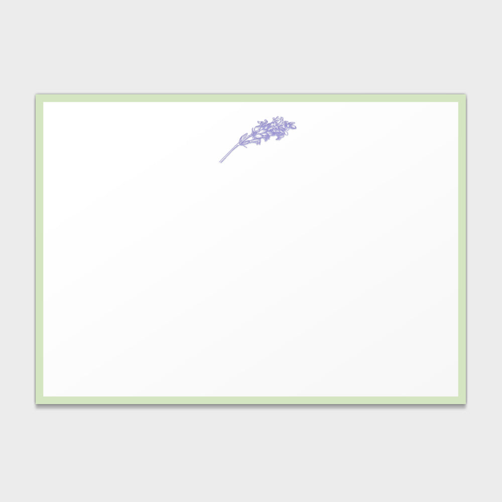 Lavender Social Note Cards