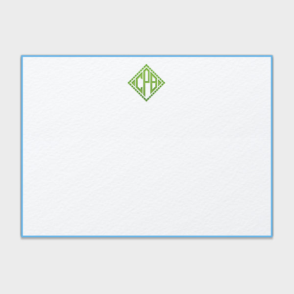 Caroline Monogram Note Card