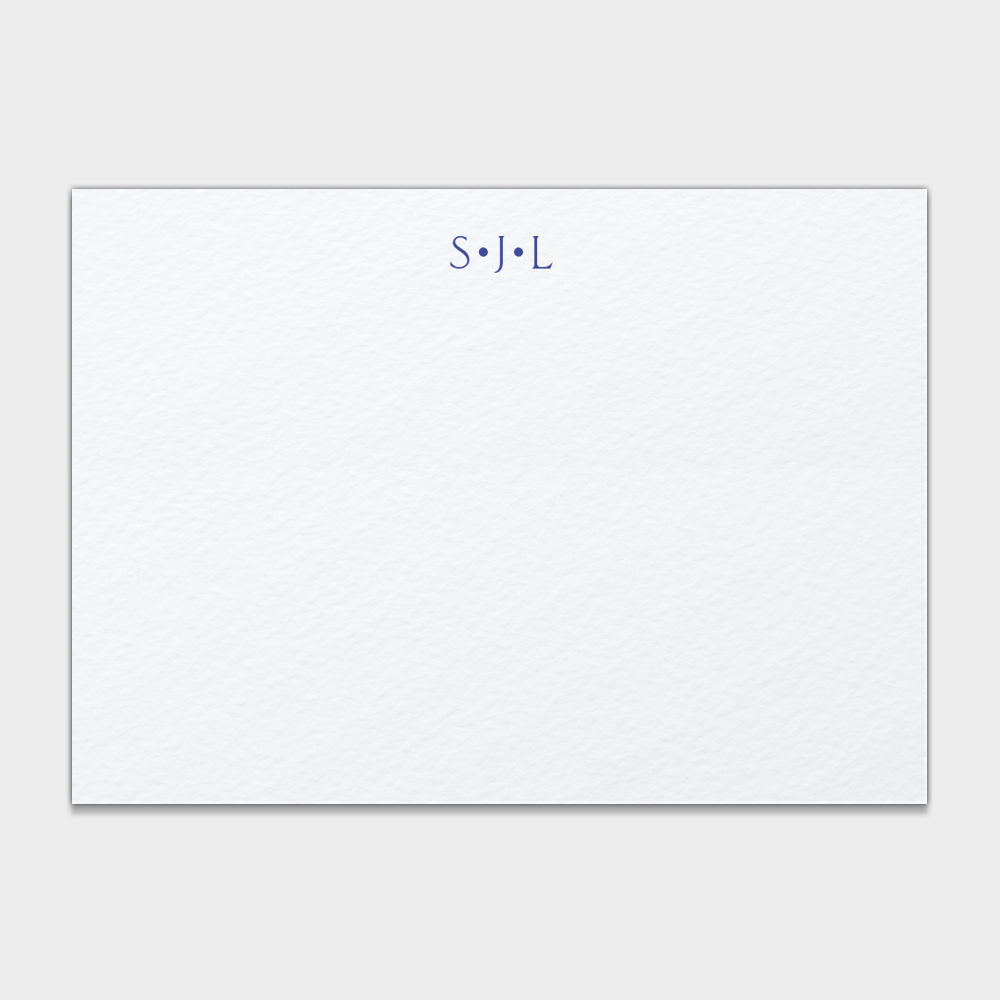 Dot Monogram Stationery