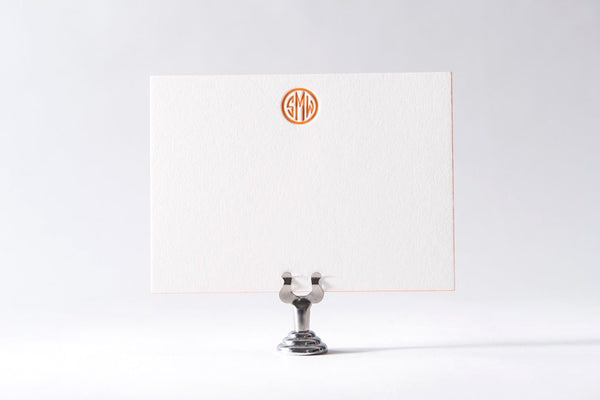Quinn Monogram Stationery