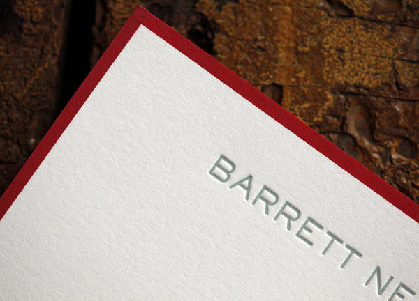 Barrett Stationery