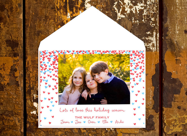 Lots of Love Holiday Card
